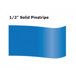 "1/2"" Inch Solid Pinstripe Tape"