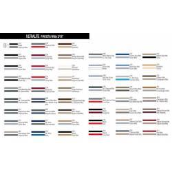 """3/16"""" 2 Color Vinyl Pinstripe"""