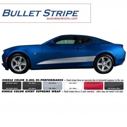 2016 Chevy Camaro Bullet Stripe Graphics Kit