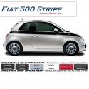 2012 - 2015 Fiat 500 Upper Side Stripe Graphic