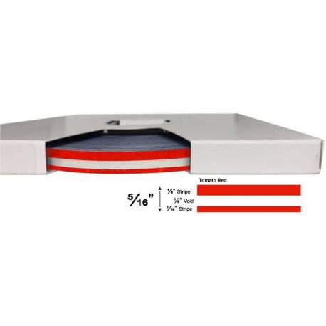 "3M™ 5/16"" x 150' Tomato Red Pinstripe Tape"
