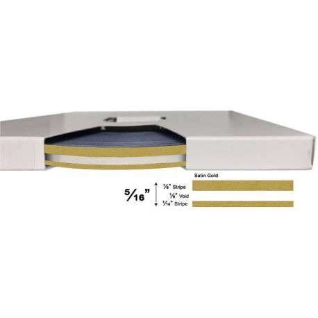 """3M™ 5/16"""" x 150' Satin Gold Metallic Pinstripe Tape"""
