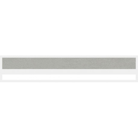 """1/2"""" x 150 ft. Silver Met. & White 2 Color Pinstripe Tape"""