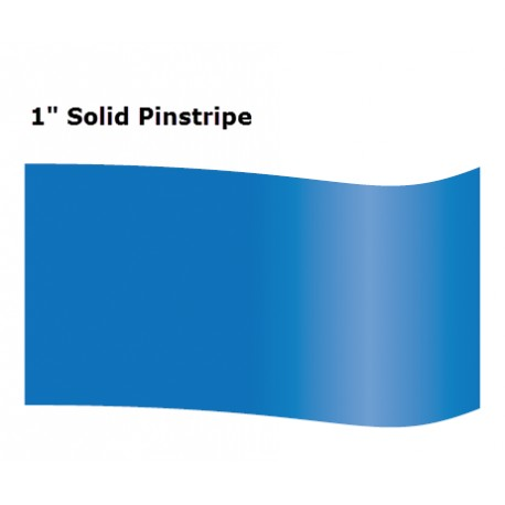 "1"" Inch Solid Pinstripe Tape"