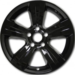 "17"" Gloss Black or Matte Black Wheel Skins Fits Jeep Patriot / Dodge Compass & Caliber"