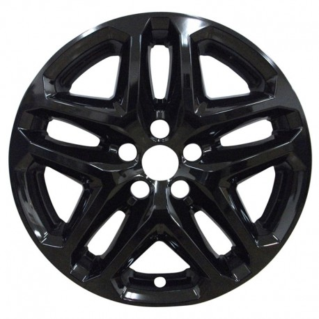 """2013-2016 Ford Fusion 17"""" Black Wheel Skins / Liners"""