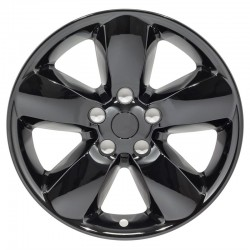"2013-2018 Dodge Ram 1500 20"" Black Wheel Skins"