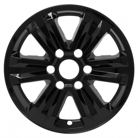 "2015-2016 Ford F150 17"" Black Wheel Skins / Liners"