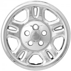 "2007 - 2010 Dodge Nitro 16"" Chrome Wheel Skins / Liners"