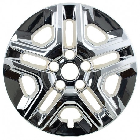 "2017 - 2018 Jeep Compass 16"" Chrome Wheel Skins / Liners"