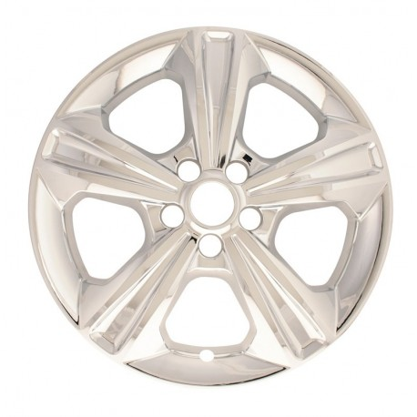 """2013 - 2016 Ford Escape 17"""" Chrome Wheel Skins / Liners"""