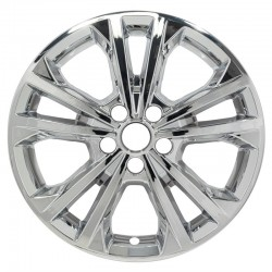 """2017 - 2019 Ford Escape 17"""" Chrome Wheel Skins / Liners"""