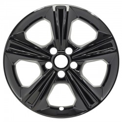 """2013 - 2016 Ford Escape 17"""" Black Wheel Skins / Liners"""