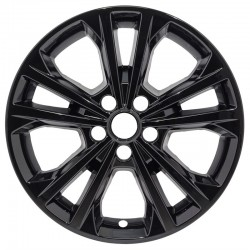 """2017 - 2019 Ford Escape 17"""" Black Wheel Skins / Liners"""