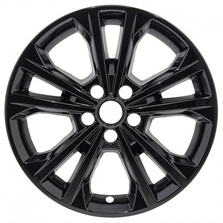 "2017 - 2019 Ford Escape 17"" Black Wheel Skins / Liners"