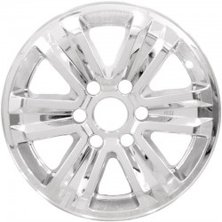 """2015 - 2019 Ford F-150 17"""" Chrome Wheel Skins / Liners"""