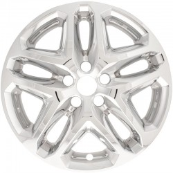 """2013 - 2016 Ford Fusion 17"""" Chrome Wheel Skins / Liners"""