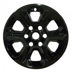 "2014 - 2019 Toyota 4Runner 17"" Black Wheel Skins / Liners"