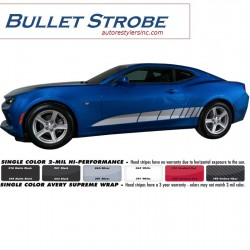 2016 Chevy Camaro Bullet Strobe Graphics Kit