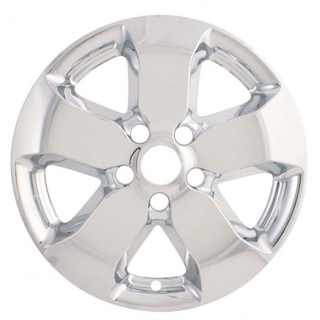 "2011 - 2013 Jeep Grand Cherokee 18"" Chrome Wheel Skins / Liners"