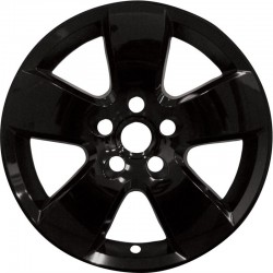 "2009 - 2012 Dodge Ram 1500 20"" Black Wheel Skins / Liners"