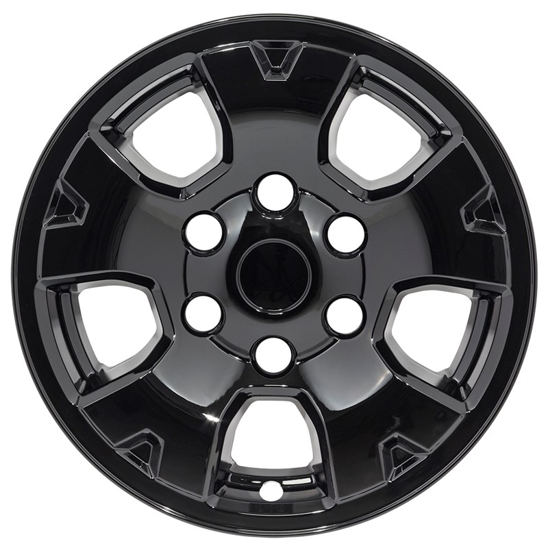 "2005-2017 Toyota Tacoma 16"" Black Wheel Skins/Liners"