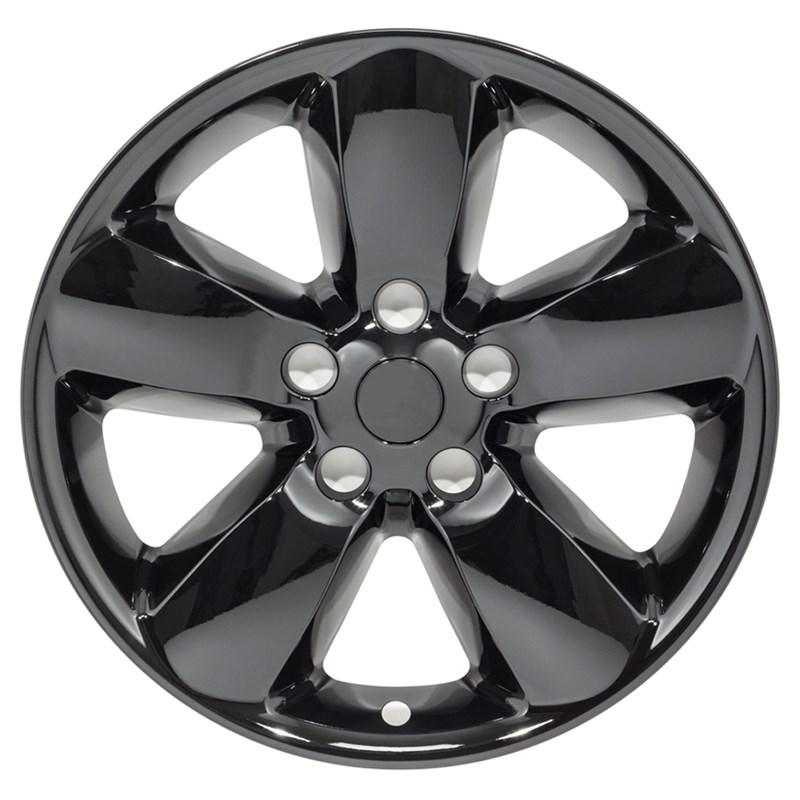 "2013-2018 Dodge Ram 1500 20"" Gloss Black Wheel Skins"