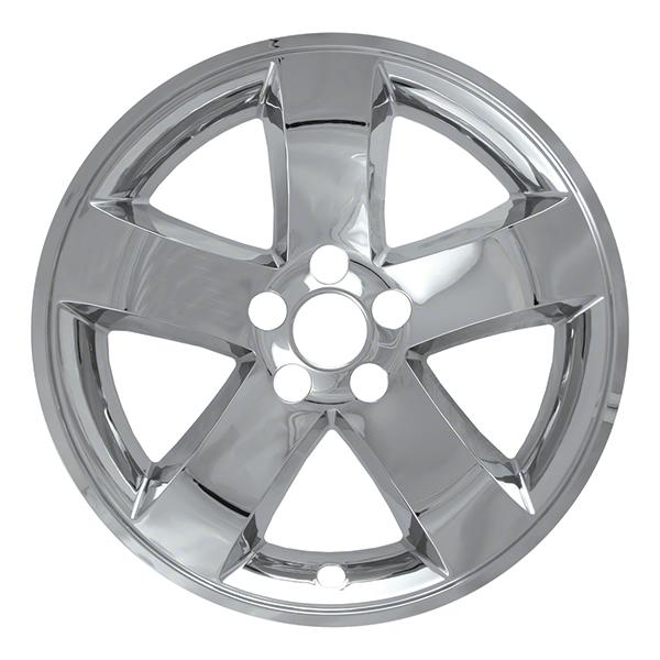 "2009-2014 Dodge Challenger 18"" Chrome Wheel Skins / Liners"