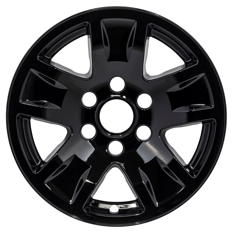 "2014-2018 Chevrolet Silverado 1500 17"" Black Wheel Skins/Liners"