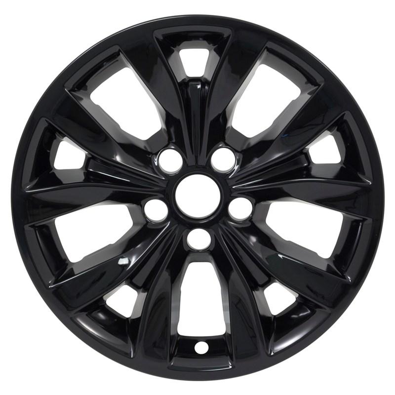 """2015-2019 Chrysler 300C 17"""" Black Wheel Skins"""