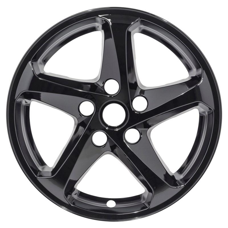 "2016-2019 Chevrolet Malibu 16"" Black Wheel Skins"