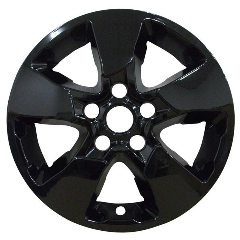 "2017-2019 Kia Soul 16"" Black Wheel Skins/Liners"